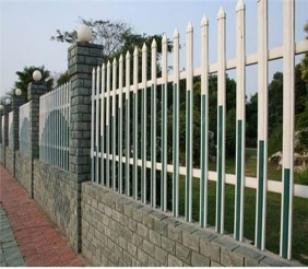 pvc围墙护栏-哈尔滨锌钢护栏
