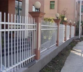 五大连池锌钢围墙护栏-锌钢护栏