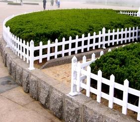 鸡西pvc草坪护栏