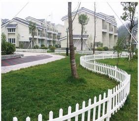五大连池pvc草坪护栏